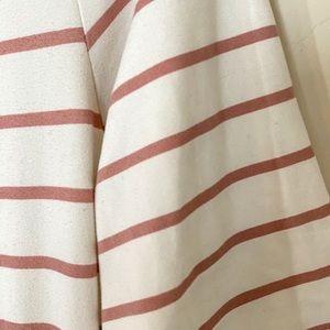 Mauve Striped Dress